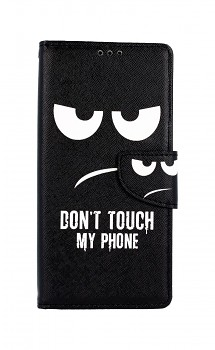 Knížkové pouzdro na Xiaomi Redmi 9 Don't Touch