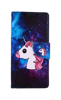 Knížkové pouzdro na Xiaomi Redmi 9 Space Unicorn