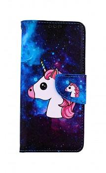 Knížkové pouzdro na Samsung A31 Space Unicorn