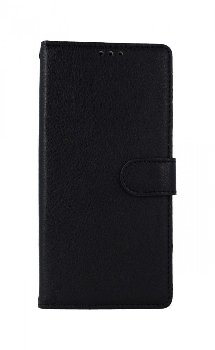Knížkové pouzdro na Xiaomi Redmi 9 černé s přezkou