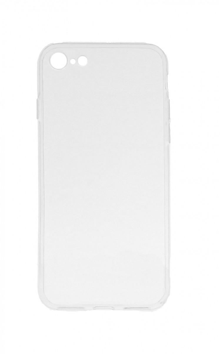 Ultratenký silikonový kryt na iPhone SE 2020 0,5 mm průhledný