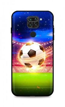 Zadní silikonový kryt DARK na Xiaomi Redmi Note 9 Football Dream