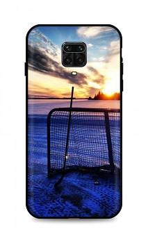 Zadní silikonový kryt DARK na Xiaomi Redmi Note 9 PRO Hockey Sunset