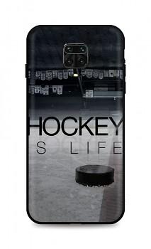 Zadní silikonový kryt DARK na Xiaomi Redmi Note 9 PRO Hockey Is Life