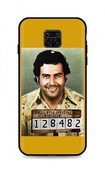 Zadní silikonový kryt DARK na Xiaomi Redmi Note 9 PRO Pablo Escobar
