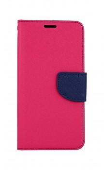 Knížkové pouzdro na Huawei Y5p růžové