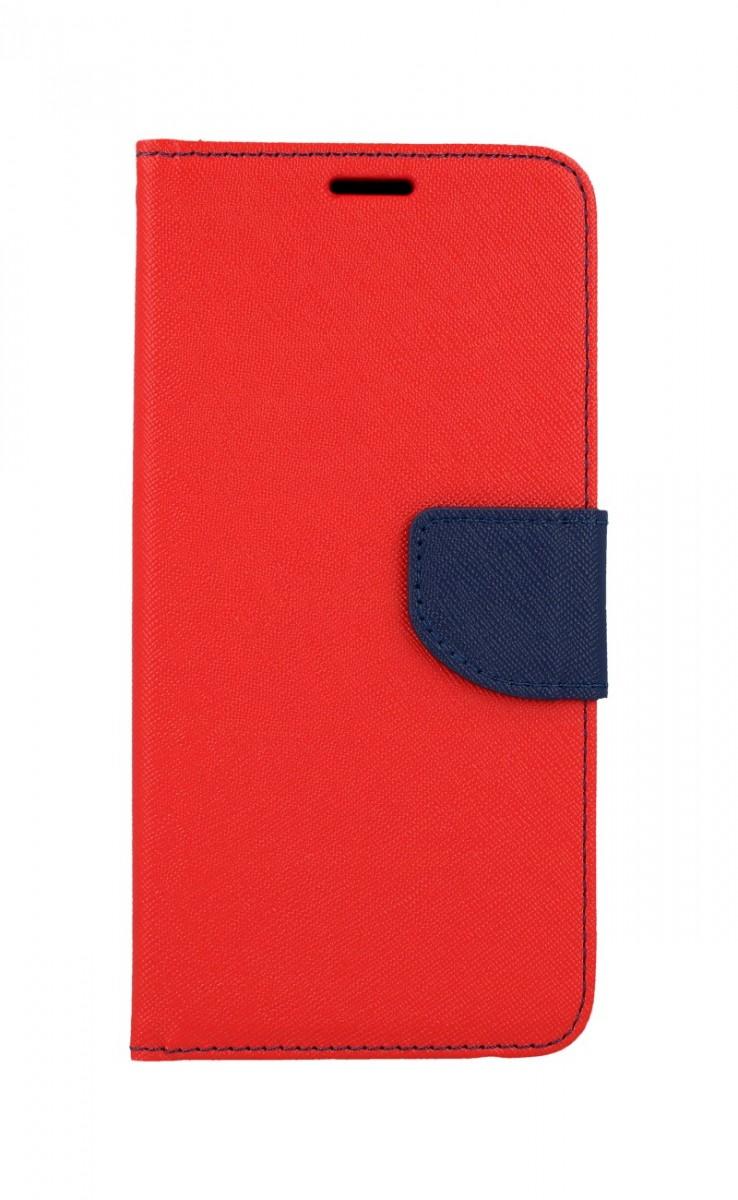 Pouzdro TopQ Huawei Y6p knížkový červený 51323 (kryt neboli obal na mobil Huawei Y6p)