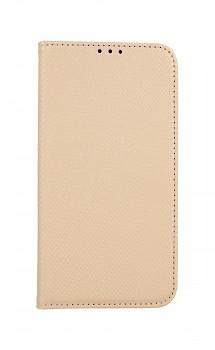 Knížkové pouzdro Smart Magnet na iPhone 11 zlaté