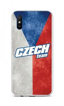 Zadní silikonový kryt na Xiaomi Redmi 9A Czech Team