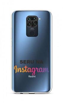 Zadní silikonový kryt na Xiaomi Redmi Note 9 Instagram