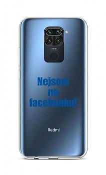 Zadní silikonový kryt na Xiaomi Redmi Note 9 Nejsem na Facebooku