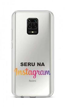 Zadní silikonový kryt na Xiaomi Redmi Note 9 Pro Instagram