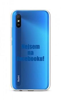 Zadní silikonový kryt na Xiaomi Redmi 9A Nejsem na Facebooku