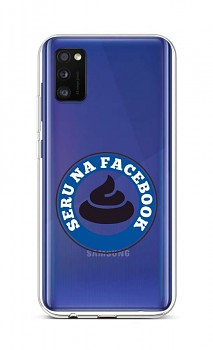 Zadní silikonový kryt na Samsung A41 Facebook