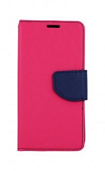Knížkové pouzdro na Samsung A40 růžové