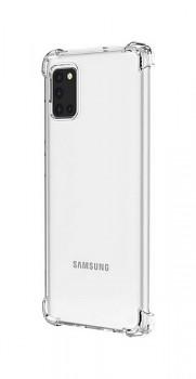 Ultratenký silikonový kryt Shock na Samsung A31 0,5 mm průhledný