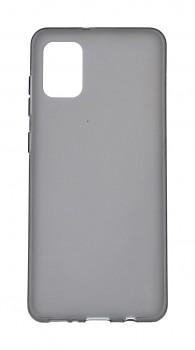 Zadní silikonový kryt KISSWILL na Samsung A31 tmavý