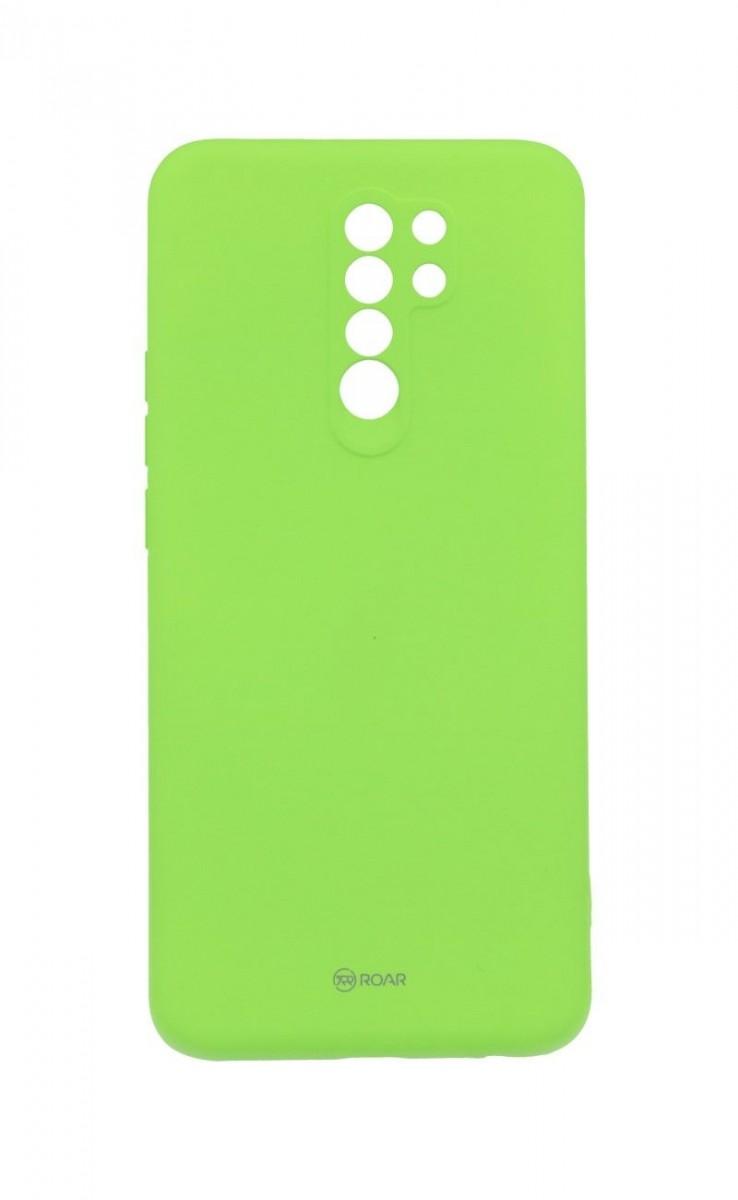 Zadní silikonový kryt Roar na Xiaomi Redmi 9 limetkový
