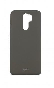 Zadní silikonový kryt Roar na Xiaomi Redmi 9 šedý
