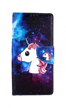 Knížkové pouzdro na Xiaomi Redmi 9A Space Unicorn