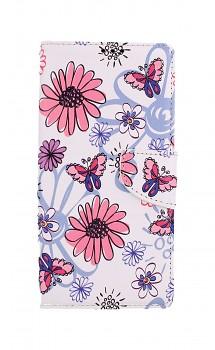 Knížkové pouzdro na Xiaomi Redmi 9A Flowers