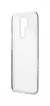 Zadní silikonový kryt na Xiaomi Redmi 9 2 mm průhledný