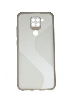 Zadní silikonový kryt na Xiaomi Redmi Note 9 S-line tmavý