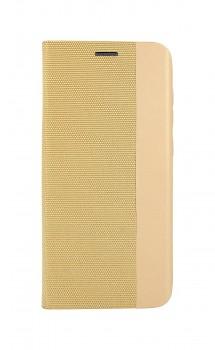 Knížkové pouzdro Sensitive Book na Samsung A21s zlaté