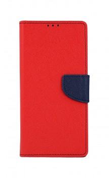 Knížkové pouzdro na Xiaomi Redmi Note 9 červené