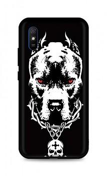 Zadní silikonový kryt DARK na Xiaomi Redmi 9A Fighting Dog