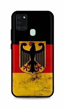 Zadní silikonový kryt DARK na Samsung A21s Germany