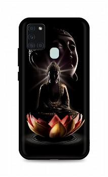 Zadní silikonový kryt DARK na Samsung A21s Meditation