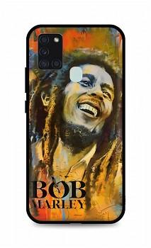 Zadní silikonový kryt DARK na Samsung A21s Bob Marley