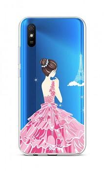 Zadní silikonový kryt na Xiaomi Redmi 9A Pink Princess