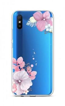 Zadní silikonový kryt na Xiaomi Redmi 9A Violet Blossom