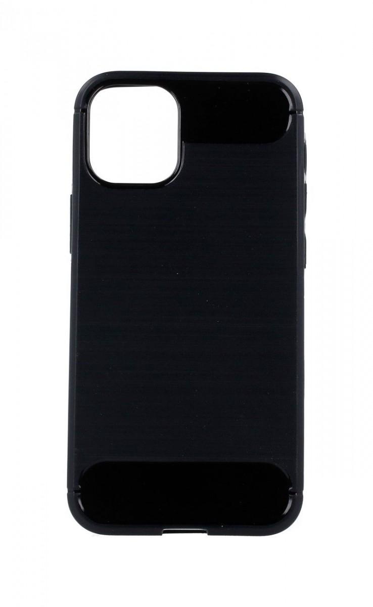 Zadní silikonový kryt na iPhone 12 černý