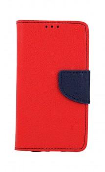 Knížkové pouzdro na iPhone 12 červené