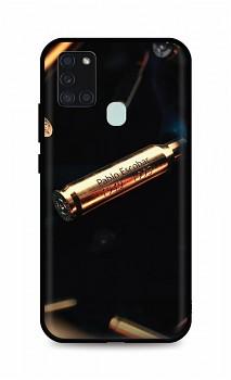 Zadní silikonový kryt DARK na Samsung A21s Pablo Escobar Bullet