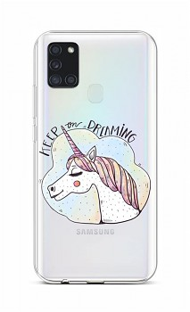 Zadní silikonový kryt na Samsung A21s Dreaming