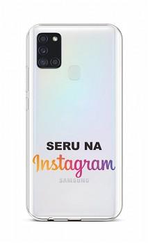 Zadní silikonový kryt na Samsung A21s Instagram