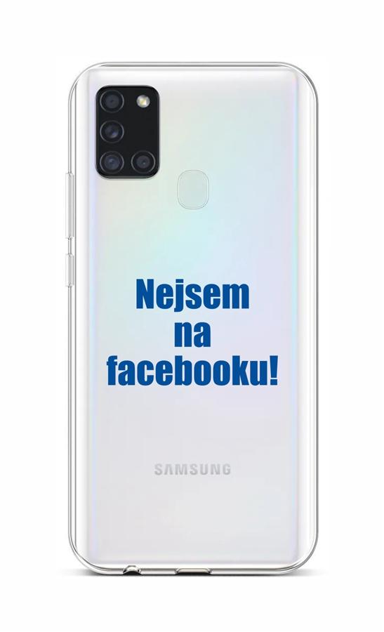 Kryt TopQ Samsung A21s silikon Nejsem na Facebooku 52117 (pouzdro neboli obal na mobil Samsung A21s)