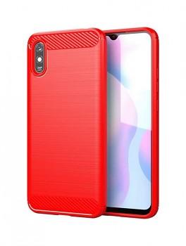 Zadní silikonový kryt na Xiaomi Redmi 9A červený
