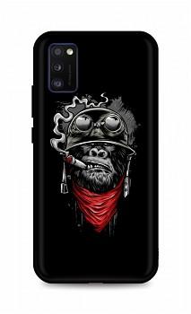 Zadní silikonový kryt DARK na Samsung A41 Gorilla