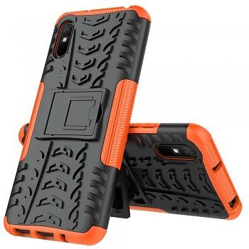Ultra odolný zadní kryt na Xiaomi Redmi 9A oranžový