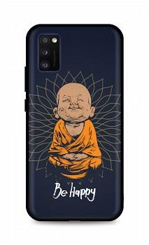 Zadní silikonový kryt DARK na Samsung A41 Be Happy