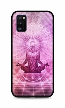 Zadní silikonový kryt DARK na Samsung A41 Energy Spiritual