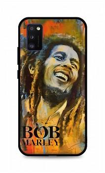 Zadní silikonový kryt DARK na Samsung A41 Bob Marley