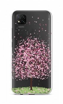 Zadní silikonový kryt na Xiaomi Redmi 9C Blossom Tree