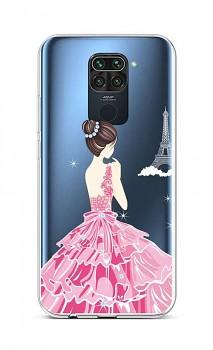 Zadní silikonový kryt na Xiaomi Redmi Note 9 Pink Princess