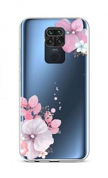 Zadní silikonový kryt na Xiaomi Redmi Note 9 Violet Blossom